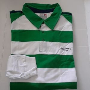NEW  Pepe Jeans London Polo Shirt LONG SLEEVE 4XL